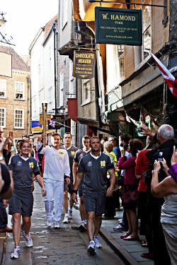 York Olympic Torch